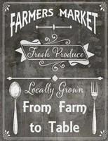 Farm Sign Farm to Table Fine Art Print