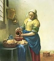 Milkmaid Fine Art Print