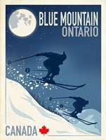 Blue Mountain 1 Fine Art Print
