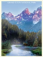 Grand Tetons Fine Art Print
