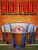 King Pong Fine Art Print