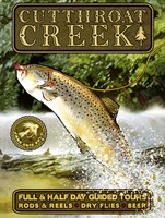 Cutthroat Creek Brown Trout Fine Art Print