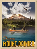 Mt Rainier Fine Art Print