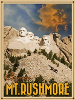 Mt Rushmore Fine Art Print