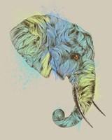 Elephant King Fine Art Print