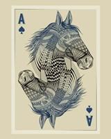 Geo Horse Fine Art Print