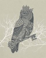Owl King Fine Art Print