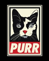 PURR Propaganda Fine Art Print