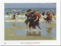At the Seaside Fine Art Print