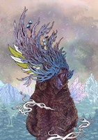Journeying Spirit (Bear) Fine Art Print