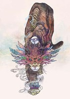 Journeying Spirit (Mountain Lion) Fine Art Print