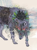 Journeying Spirit (Wolf) Fine Art Print