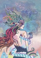 The Last Mermaid Fine Art Print
