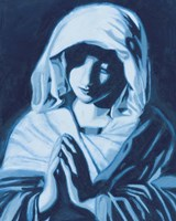The Virgin Mary Fine Art Print