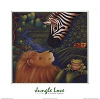 Jungle Love I Fine Art Print