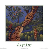 Jungle Love II Fine Art Print