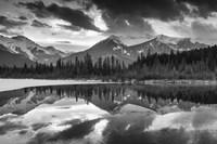 Vermillion Reflection BW Fine Art Print
