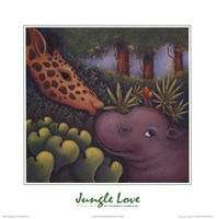 Jungle Love III Fine Art Print
