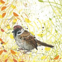Tree Sparrow Fine Art Print