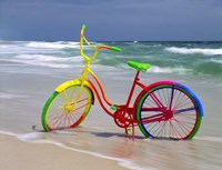 Rainbow Bike Fine Art Print