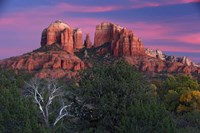 Sedona Cathedral Rock Dusk Fine Art Print