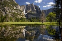 Yosemite Falls Reflection Fine Art Print