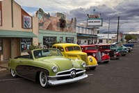 Rt 66 Fun Run Kingman Fine Art Print