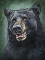 Black Bear Totem Fine Art Print