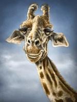 Giraffe Totem Fine Art Print
