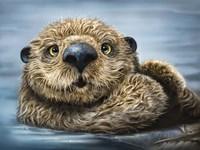 Otter Totem Fine Art Print
