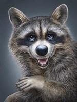 Raccoon Totem Fine Art Print