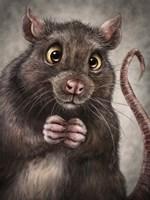 Rat Totem Fine Art Print