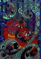 The Red Dragon Fine Art Print