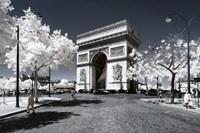 The Arc de Triomphe Fine Art Print