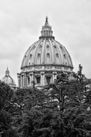 St Pierre de Rome Basilica Fine Art Print