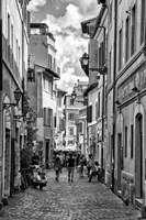 Historic street of Rome Fine Art Print