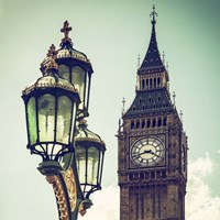 Big Ben and the Royal Lamppost UK Fine Art Print