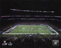 U.S. Bank Stadium Super Bowl LII Fine Art Print