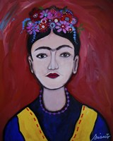 Frida Adolescente Fine Art Print
