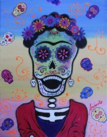 Screaming Frida Fine Art Print