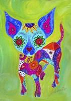 Talavera Happy Chihuahua Fine Art Print