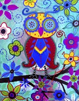 The Judicious Owl Fine Art Print