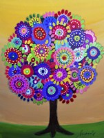 Sunny Tree Of Life Fine Art Print