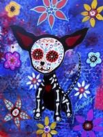 Chihuahua Dia De Los Muertos Fine Art Print