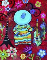 Resting Mariachi Fine Art Print