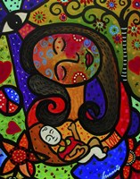 Mother And Child II Fine Art Print