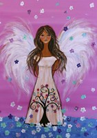 Maddie's Guardian Angel Fine Art Print