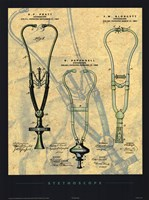 "Stethoscope by Patent poster company - 18"" x 24"" - $16.49"