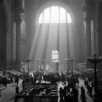 1930s 1940s Interior Pennsylvania Station New York City? Fine Art Print