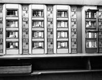 1920s 1930s 1940s 1950s Automat Cafeteria Vending Machine? Fine Art Print